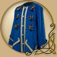 Costume -Decorated Jacket with Gold Trim